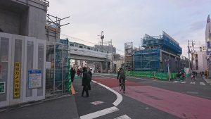 竹ノ塚駅 踏切