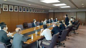 自民党と教育委員会の政策懇談会