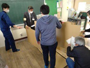 東伊興小学校 避難所運営訓練
