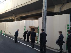 竹ノ塚 踏切事故現場